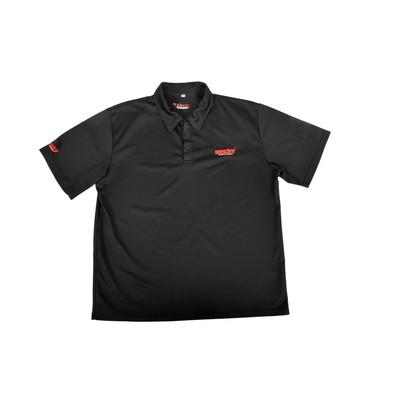Pikéskjorte, svart