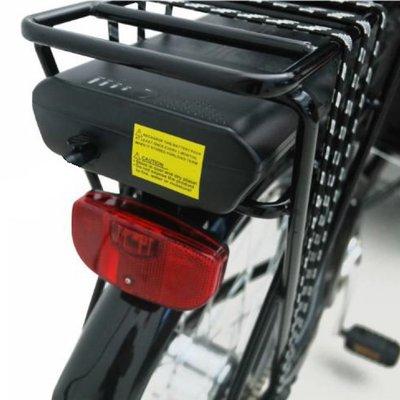 Ekstra batteri & lader til lastesykkel - 36V 10,4 Ah