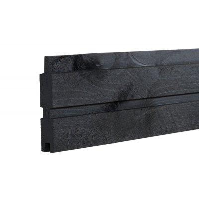 Profilbord Planke Svart - lengde 177 cm