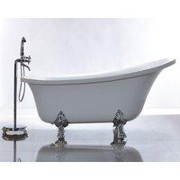 Badekar med føtter - Athena - 160-175 cm