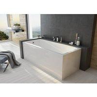 Klassisk badekar - Free Line | Midtavløp | Dybde 45 cm