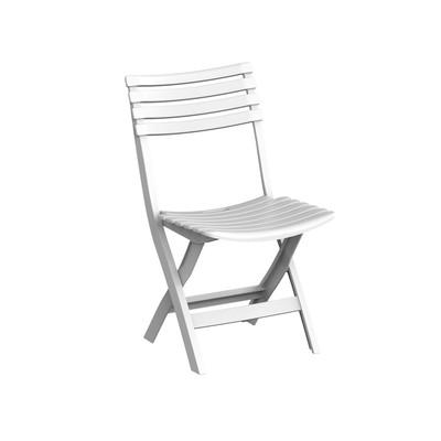 Sammenleggbar plaststol