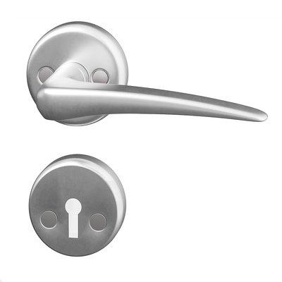 Dørhåndtak innerdør - Aluminium Bent