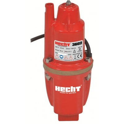 Vannpumpe for borehull - maks pumpehøyde 70 m - 1,7m³/H