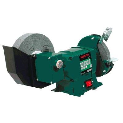 Våt/tørr benkslipemaskin 250W, 150/200 mm
