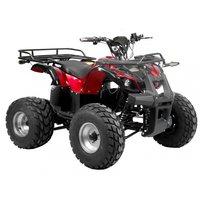 Elektrisk ATV - Rage - Rød metallikk