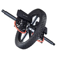 Treningshjul med fotstøtte