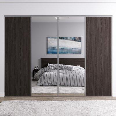 Venedig skyvedør for garderobeskap - 4 Dører - Panel/speil - Valgfri farge