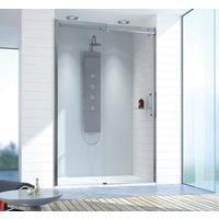Altus dusjdør, skyvedør - 8 mm glass (mange størrelser)