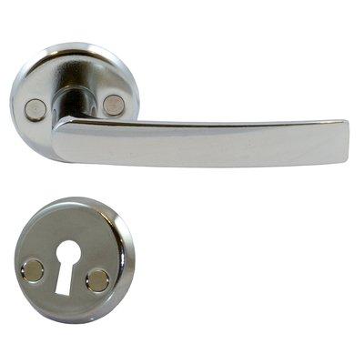 Dørhåndtak for ytterdører - høyglanset krom