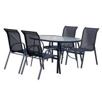 Åsa spisegruppe - 4 stoler