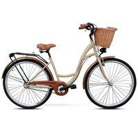 Classic sykkel 28« - 3 Brytere - cappucino