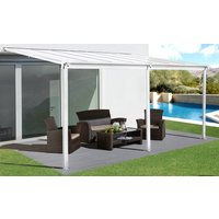 Terrassetak Jim - hvit - 300 x 435 cm