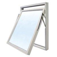Toppsvingvinduer - 3-glass - aluminium - U-verdi: 1,1