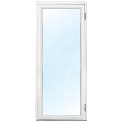 Vindusdører - helglassert 3-glass - tre - U-verdi: 1,1