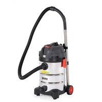 Grovstøvsuger for våt og tørr støvsuging 30 l - 18 kPa