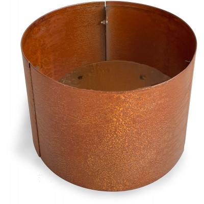 Corten stålpotter rund - H40 x Ø40 cm