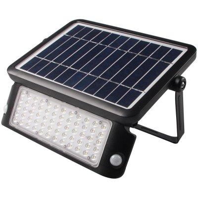 Solcelledrevet lyskaster med sensor