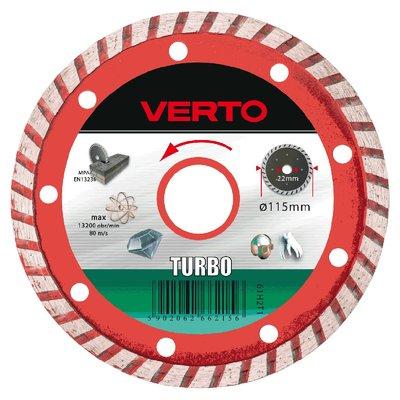Diamantkappeskive Turbo